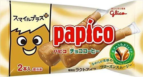 グリコ スマイルプラス+ パピコ チョココーヒー90ml(45ml×2本)×27袋