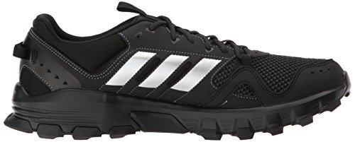 Adidas Mens Rockadia Trail M Scarpa Da Corsa Nucleo Nero / Argento Opaco / Carbonio