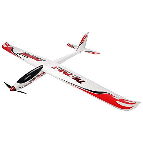 Costzon Phoenix Evolution RC Glider Airplane Sailplane PNP Brushless No Radio