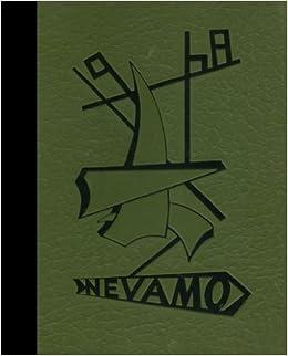 Amazonin Buy Black White Reprint 1968 Yearbook Nevada High