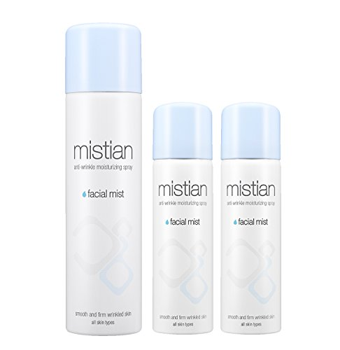 - Mistian Anti-Wrinkle & Moisturizing Facial Spray 120ml + ( 50ml x 2 for Travel ) | Adenosine & Allantoin