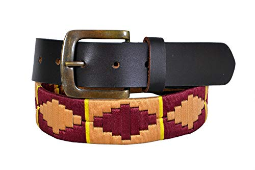 Argentinian Polo Genuine Leather Belt Unisex Harness Gaucho - Harness Gaucho