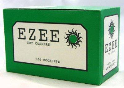 E-Zee Ezee Standard Rolling Paper Booklets, Pack of 100, Green
