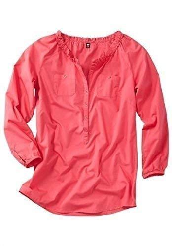 Estupendo Blusa de Sheego en color Coral - algodón, coral, 100% algodón,