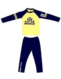 DQdq Little Boys' Rashguard 2 Pieces Swimsuits Set