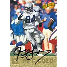 Autograph Warehouse 80223 Joey Galloway Autographed Football Card Seattle Seahawks 1996 Score Board No .35 As Is