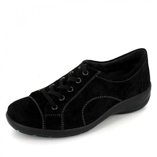 Semler Birgit - H - Zapatos de cordones para mujer 042-001°schwarz