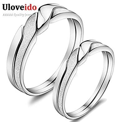 Laprapha Cute Fashion 925 Sterling Rings for Women and Men Wedding Anniversary Engagement Ring Anillos de