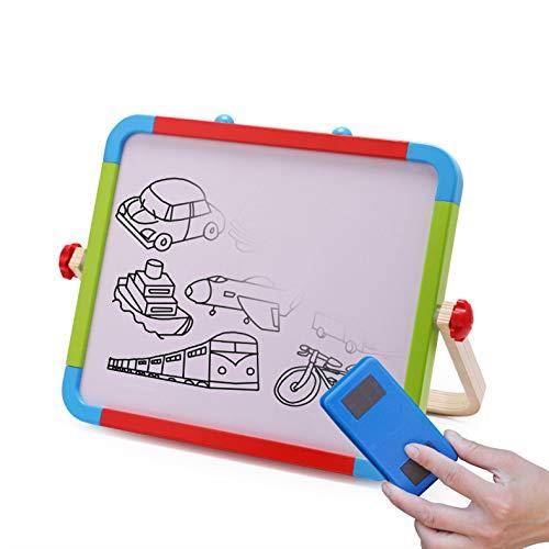 磁気製図板、両面消去可能なスケッチ落書き書く絵画ボードカラフルな無毒スケッチパッド用学習幼児男の子女の子 B07TRFBZJ6