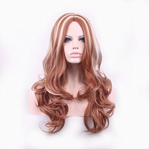 Busujima Saeko Costume (Prettybuy Charming Lady's 29 Inches Wigs Long Wave Hair Women wigs Heat Resistant Spiral Lolita Harajuku Wigs for Cosplay Party)