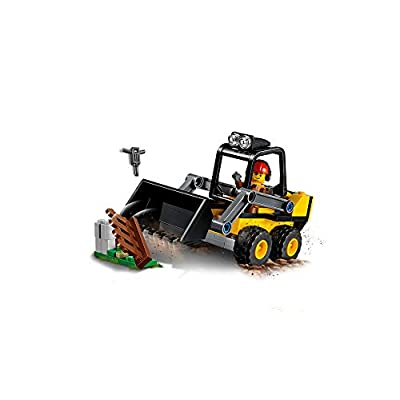 LEGO City Great Vehicles Construction Loader 60219 Building Kit (88 Pieces): Toys & Games