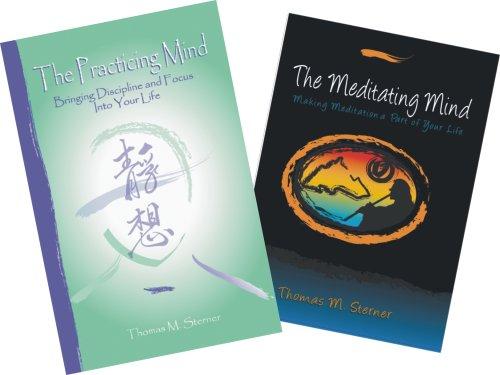 The Total Mindset: The Practicing Mind (Paperback)/The Meditating Mind (Audio 2-CD Set)