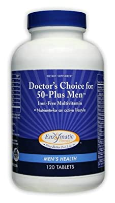 Doctors Choice for 50 Plus Men 120 Tablets by Enzymatic
