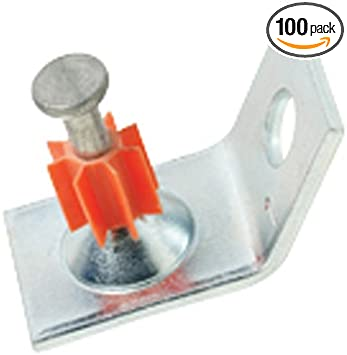 Ramset Powder Fastening Systems 1516SDC 2-1//2-Inch Washered Pins 100 Pack