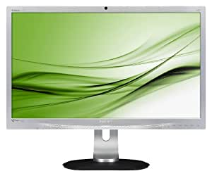 "Philips Brilliance - Monitor (retroiluminación LED 241P4LRYES/00, 61 cm (24""), 250 cd / m², 1920 x 1080 Pixeles, 5 ms, LED, Full HD)"