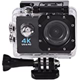 Waterproof SJ9000 Wifi 1080P 4K Ultra HD Sports Action Camera DVR Cam Camcorder (Black)