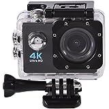 Waterproof SJ9000 Wifi 1080P 4K Ultra HD Sports Action Camera DVR Cam Camcorder (Black)