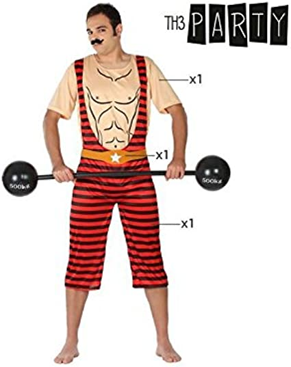 Disfraz para Adultos Th3 Party 1044 Hombre forzudo: Amazon.es ...