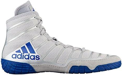 adidas Mens Varner Wrestling Boots White Sports Breathable Lightweight