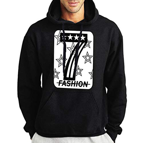 kaifongfu Men Sweatshirt,Fashion Long Sleeve Print Mens Pullover