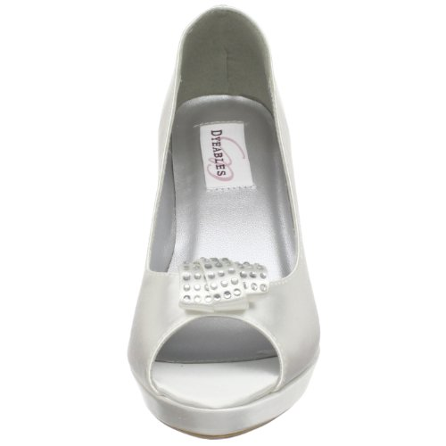 Dyeables Mya White Dyeable Wedding Shoes (UK3-9) White F5lFOGLau4