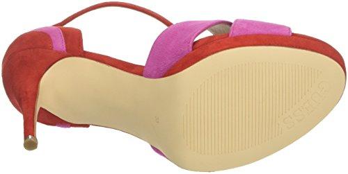 Plateau Donna Dress col Footwear Rosa Scarpe Guess Tacco con Sandal xcC0wSnqH8