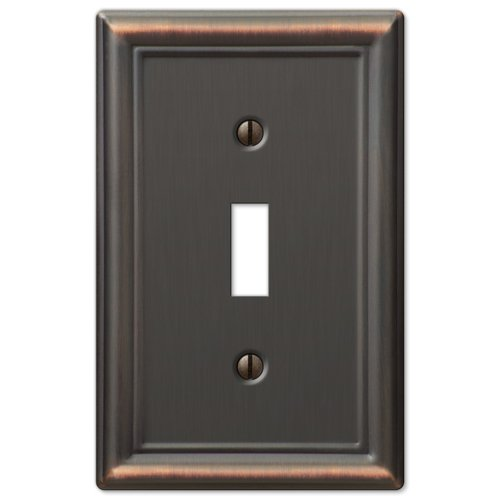 Toggle Wall Switch Plate Cover - Oil Rubbed Bronze ()