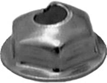 3//8 Hex Zinc Clipsandfasteners Inc 100#10-32 Washer Lock PAL Nut 1//2 O.D