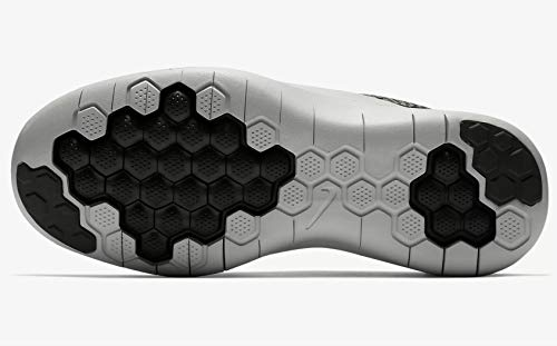 Flex 001 Light 2018 Newsprint Black Sneakers WMNS Dark Stucco Femme RN Multicolore NIKE Basses Silver 5q61nwExC