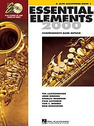 Hal Leonard Essential Elements 2000 Alto Saxophone Book 1 with CD-ROM by Hal Leonard