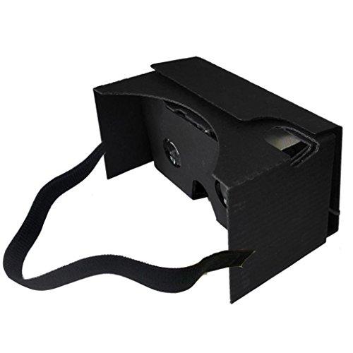 Damark 2015 New For Google Cardboard V2 3D Glasses VR Valencia Quality Max Fit 6Inch Phone