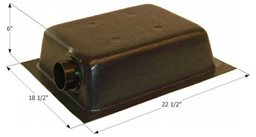 ICON Holding Tank Left End or Bottom Drain HT630ED with 3