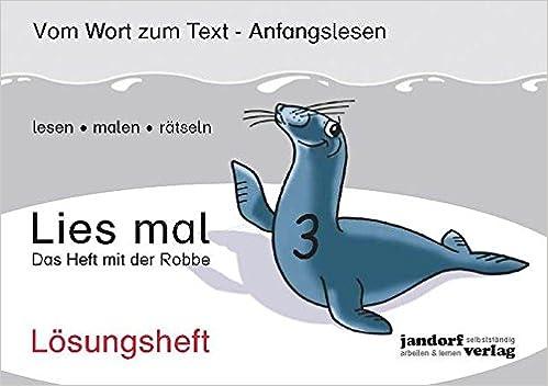 Lies mal 3 Das Heft mit der Robbe