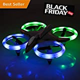 RC Drone- Vandora RC Mini Quadcopter Altitude Hold Height Headless RTF 3D 6-Axis Gyro 4CH 2.4Ghz Helicopter Steady Super Easy Fly for Training (Black) (Black 3)