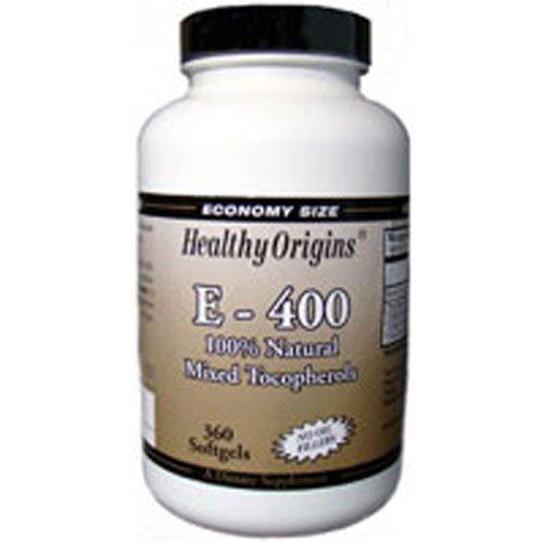 Healthy Origins Vitamin E 400Iu 360 Sgel