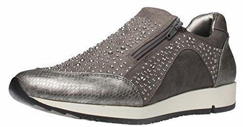 Fitters Footwear - Zapatillas de Material Sintético para mujer gris gris