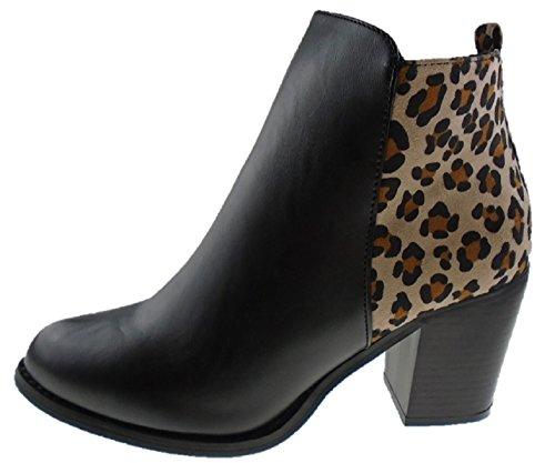 Cotton Traders  Leopard, Bottes Classiques femme