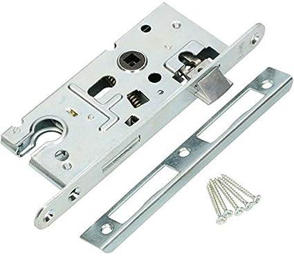 KOTARBAU - Cerradura de inserción 72/40 mm para cilindro de perfil ...