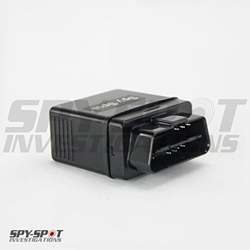 Spy Spot OBD II 3G GPS Tracker, Real Time View, Teen Driver Coach, Mileage Recorder