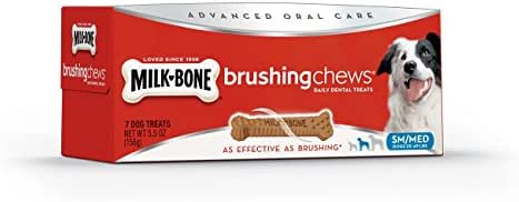 Dog Treats: Milk-Bone Brushing Chews Small + Medium