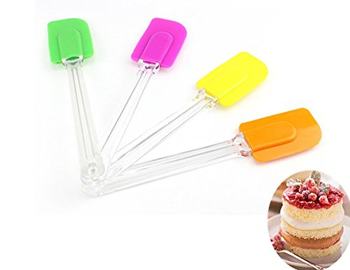 3 Pcs Plastic Scissors For Cream Flower Kitchen Baking Tool - 1
