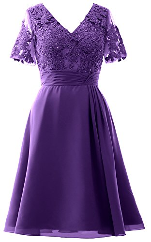 Regency Midi Bride Short MACloth Sleeves Women Party Wedding Mother Dress the Dress of Y6qxT7gan