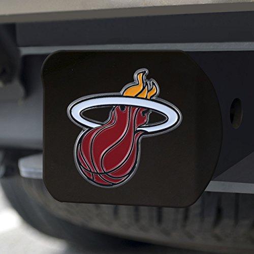 FANMATS NBA Miami Heat NBA - Miami Heatcolor Hitch - Black, Team Color, One Size