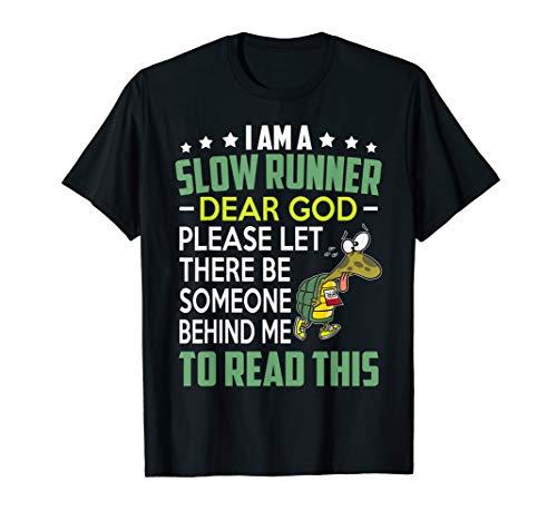 999469c5 I'm a slow runner t-shirt the best Amazon price in SaveMoney.es