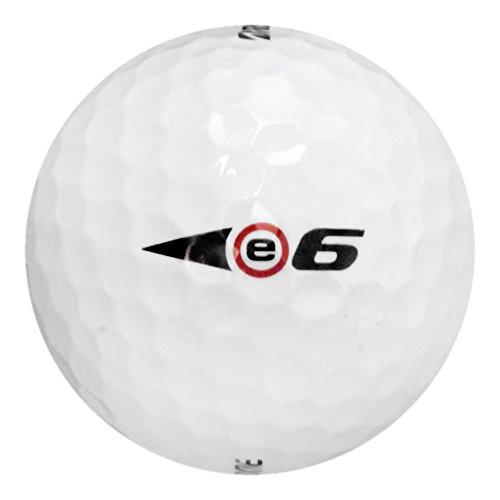 2 Dozen新しいブリヂストンe6ソフト直線距離ゴルフボール2017 – ホワイト B075F8JLY5