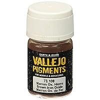 Pigmento de óxido de hierro marrón Vallejo, 30 ml