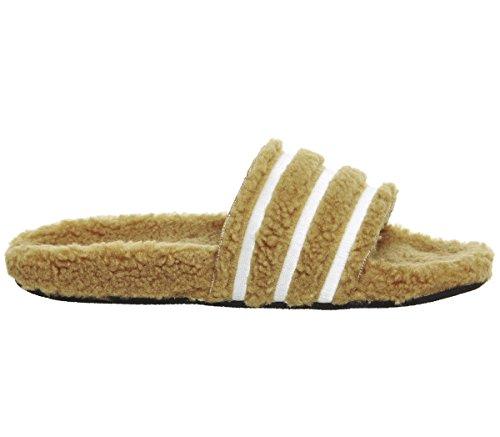 Scarpe Adidas Da Donna Adilette W Da Ginnastica, Beige Nero (mesa / Blatiz / Negbás 000)