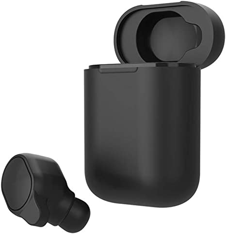XCUGK Auriculares De Traducción, Mini Wireless Bluetooth 5.0 Auriculares De Traducción En Tiempo Real Soporte 33 Idiomas 4D Traductores Auriculares Estéreo Portátiles con Estuche De Carga: Amazon.es: Deportes y aire libre