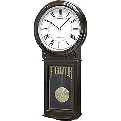 Examplar Wooden Musical Schoolhouse Regulator Wall Clock
