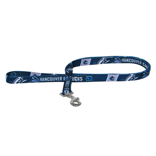 Hunter Mfg. LLP NHL Vancouver Canucks Pet Lead, Team Color, Medium